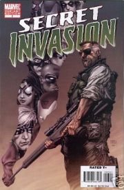 Secret Invasion #3 McNiven Variant 1:25 Marvel comic book